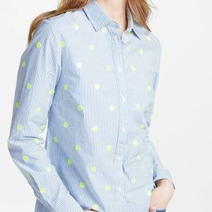 Boden Classic Shirt Striped Embellished